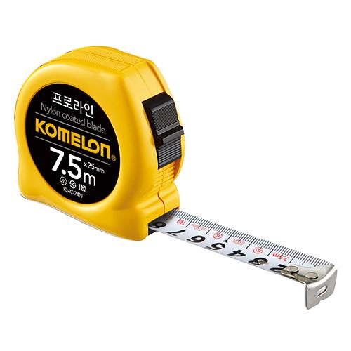 프로라인줄자(노랑) KMC-74N