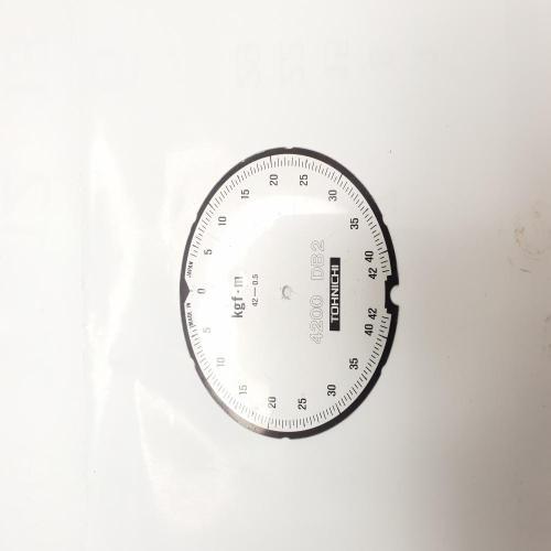 눈금판(DB용) 토니치 부품 토크렌치 01T09430