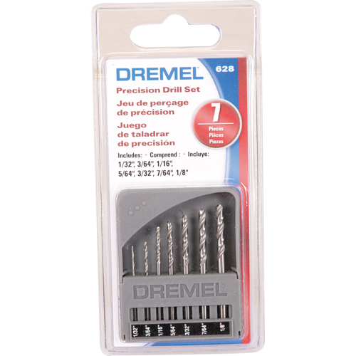 드레멜 드릴비트세트 628(로터리툴용 7종) 1EA