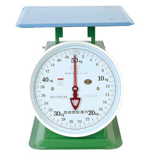 효성정밀계기 지시저울 20kg (100g)