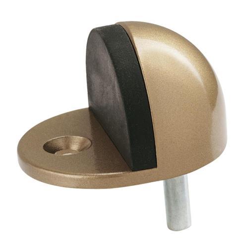 반달도어스토퍼 청구금속 10개 대(26mm)골드